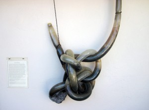 Microbial Knot sculpture