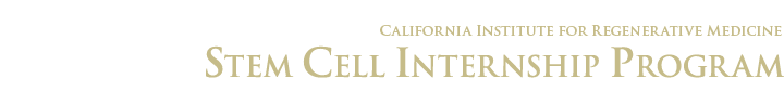 SDSU Stem Cell Internship Program