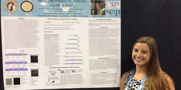 SDSU/CIRM Interns Attend International Society for Stem Cell Research Annual Meeting