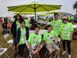 BSCRIP Interns at Summit 5K for Parkinson's Research
